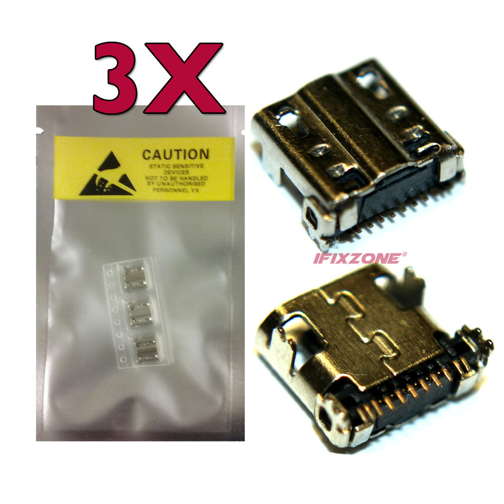 Parts For Samsung Galaxy S4 Lte Ebay S Circuit Diagram 3 X New Usb Charging Sync Port Sm C105 Zoom