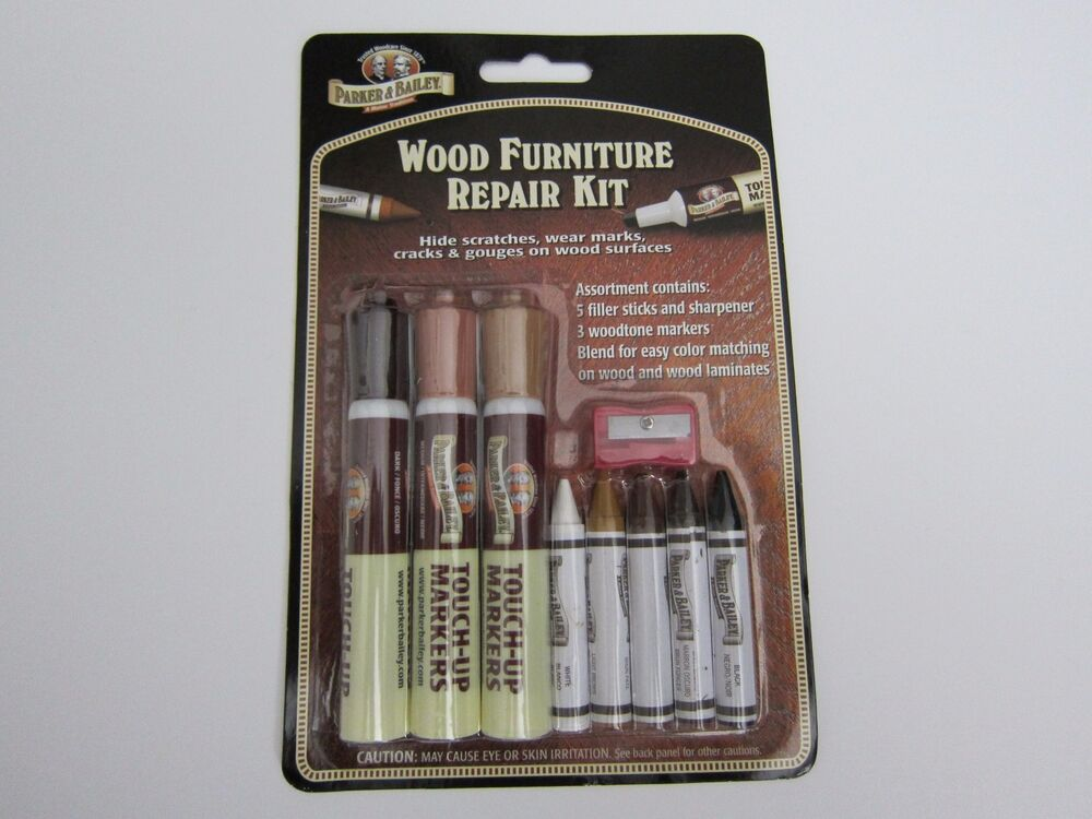 Parker Amp Bailey Wood Furniture Repair Kit 9 Pcs New Ebay