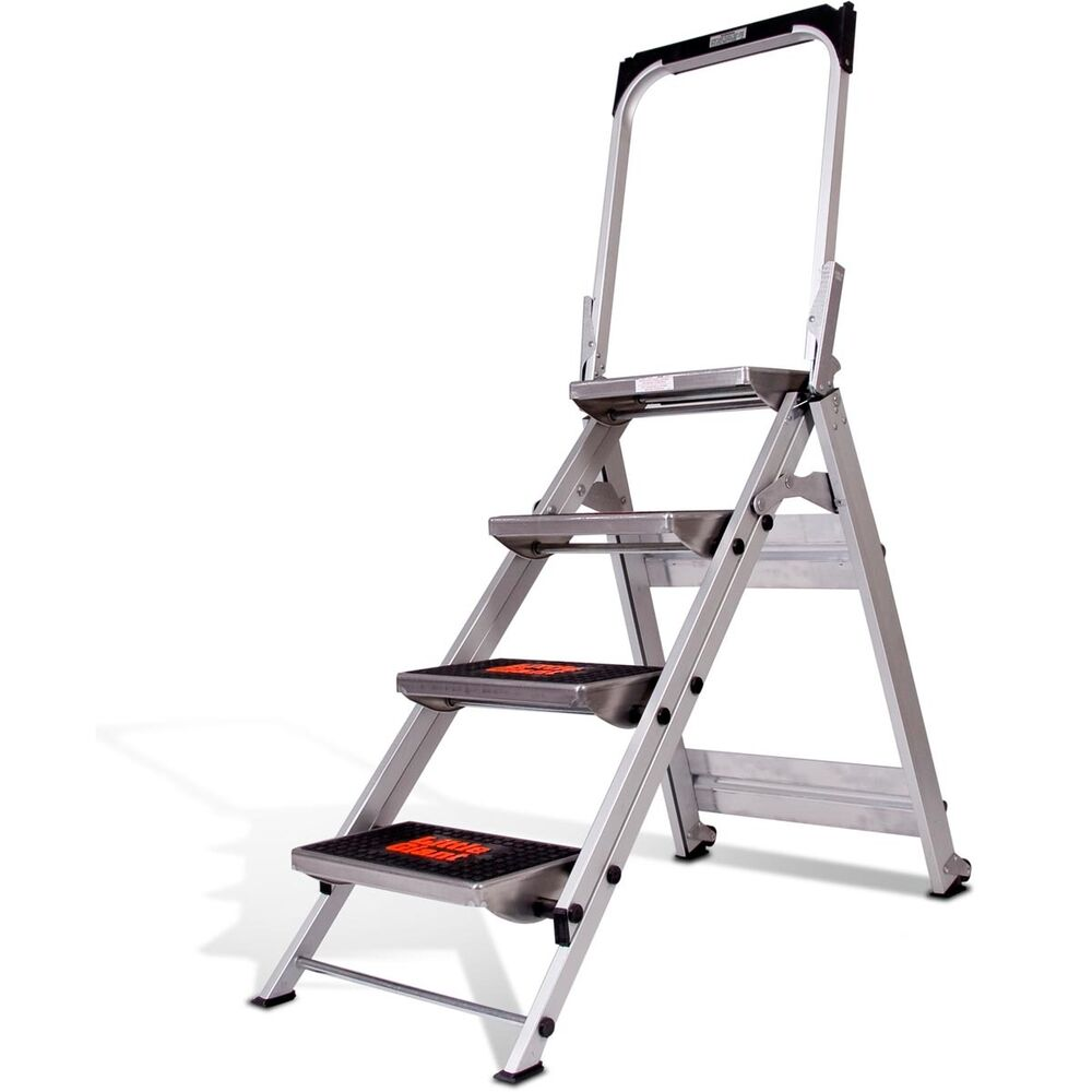 Little Giant Ladder System Safety Step Ladder 4 Step