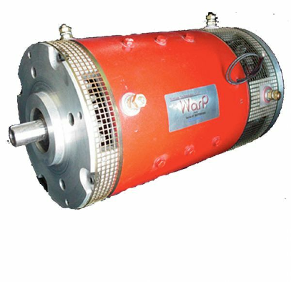 Netgain warp 9 series dc motor ev conversion brushed drive for Electric motors for cars for sale