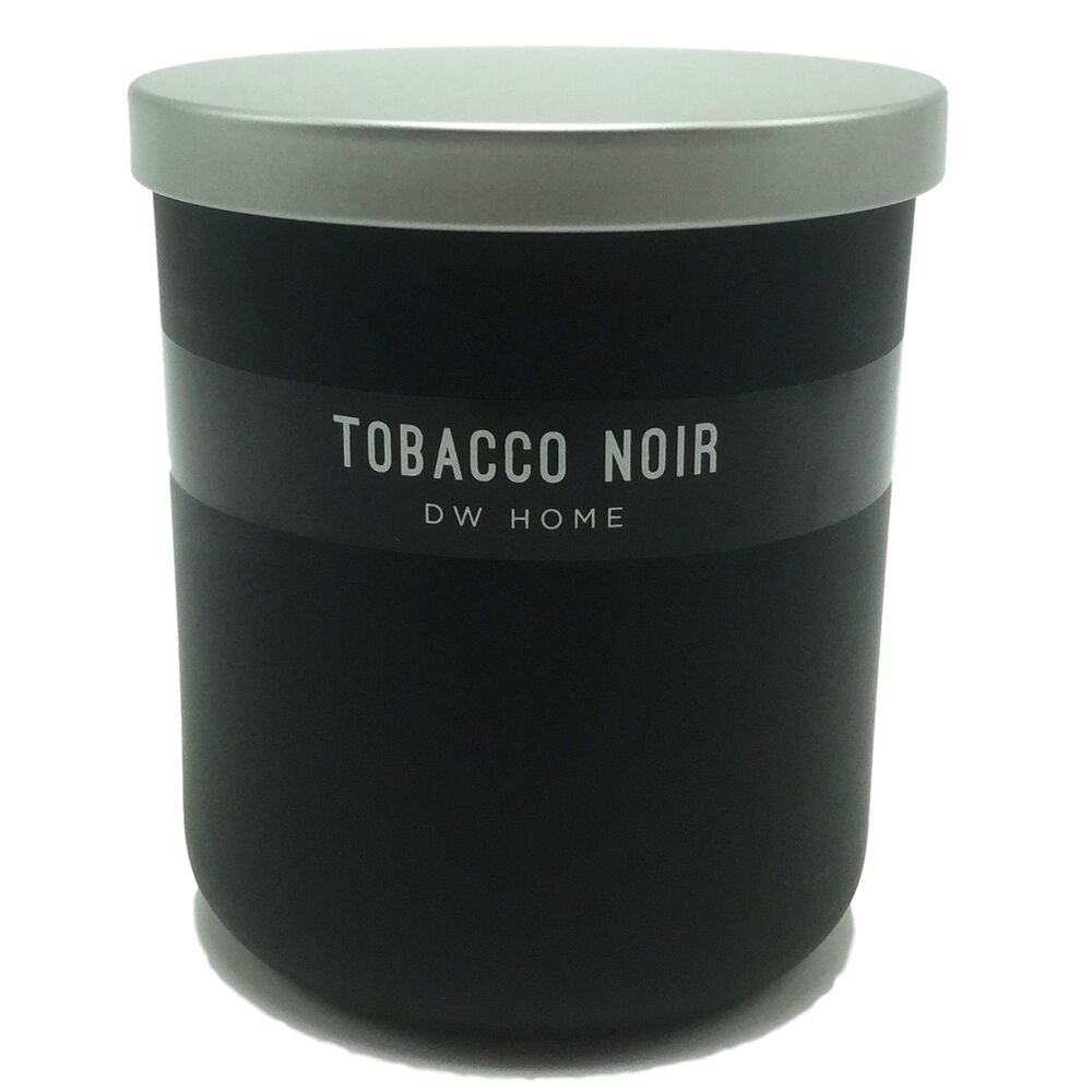 dw home tobacco noir scented candle with lead free wick 9oz ebay. Black Bedroom Furniture Sets. Home Design Ideas