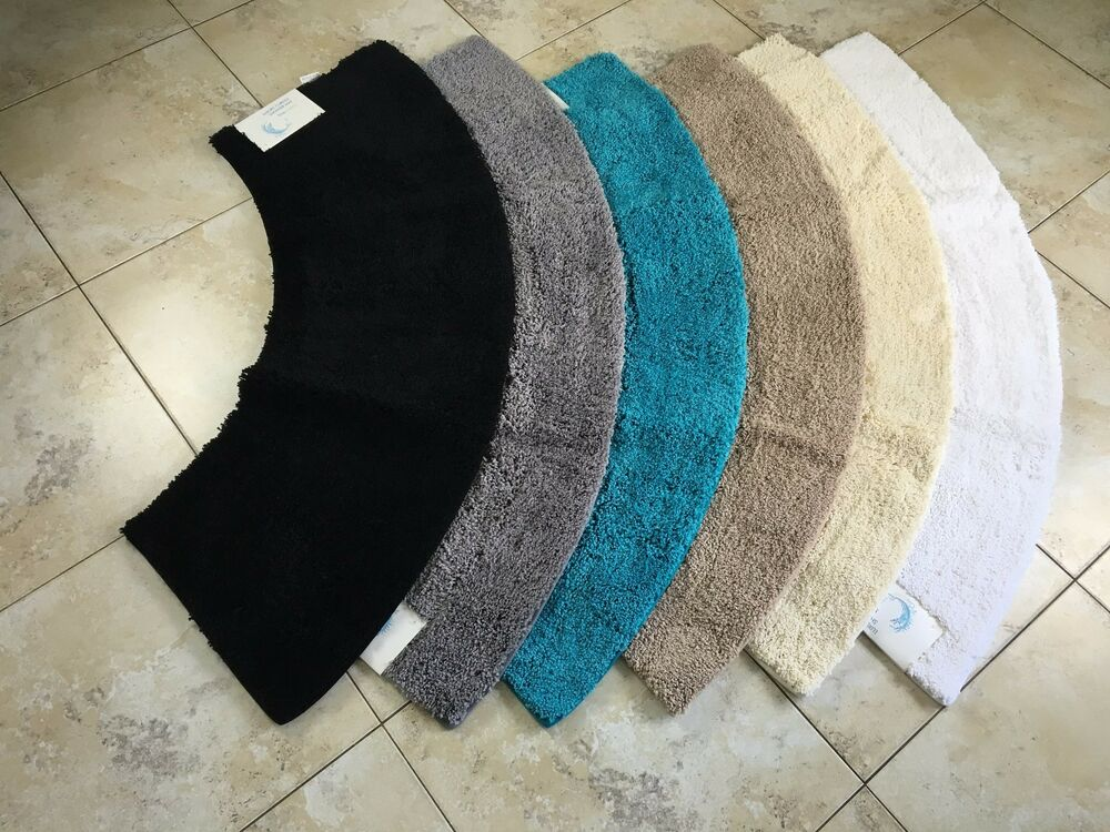 Microfibre Non Slip Large Curved Shower Mat From Cazsplash