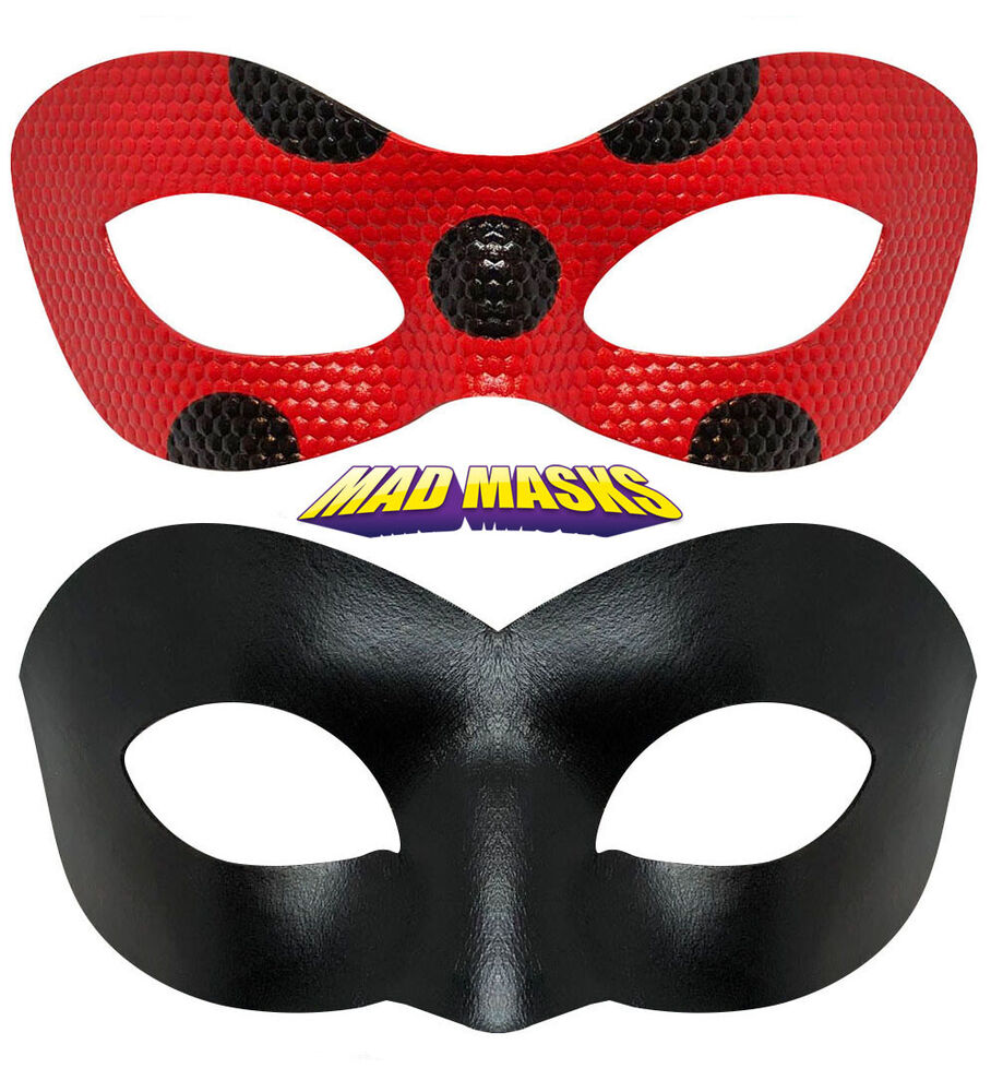 Ladybug Hero Mask Cat Noir Hero Mask Miraculous Find