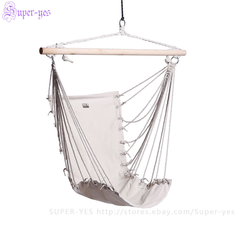 Hammock Chair Hanging Swing Outdoor Indoor Garden Patio