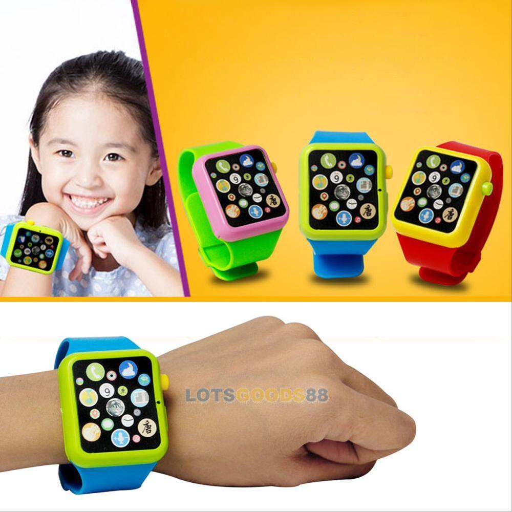 Learning Toys And Games : Kids child toddler educational smart wrist watch learning