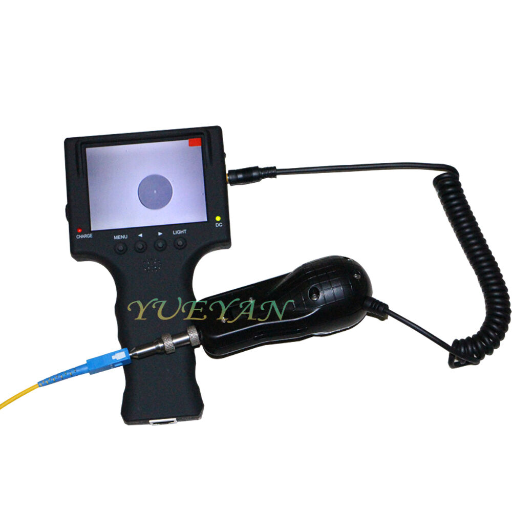 Optical Fiber Monitor : Fiber optic testing tool xhandhold display microscope