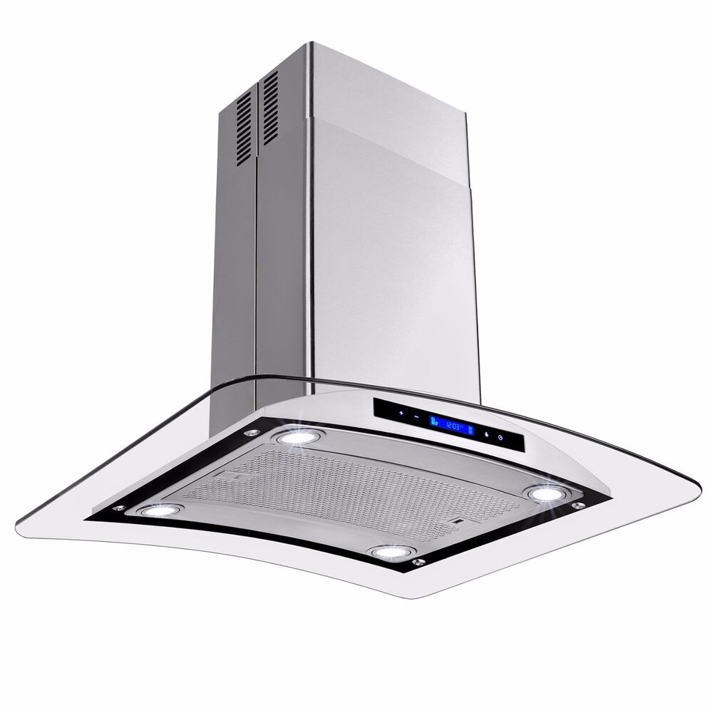 island exhaust hoods kitchen 30 quot europe stainless steel island mount range stove 19011