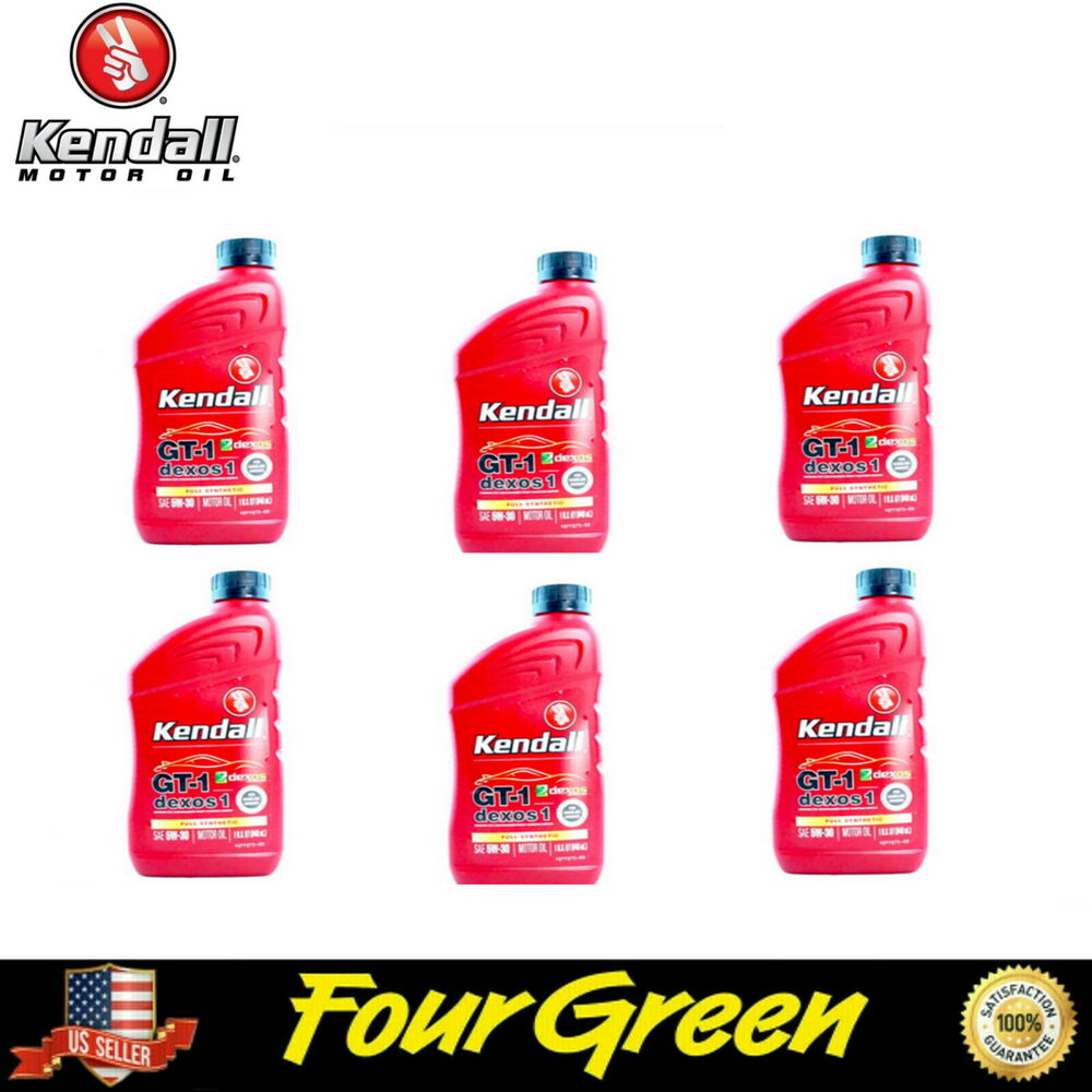 Kendall Engine Motor Oil 5w30 Full Synthetic Dexos