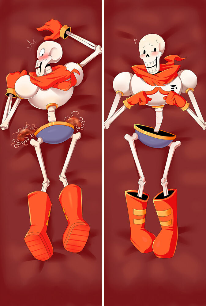 Anime Characters Hugging : Undertale characters papyrus frisk papdaki anime
