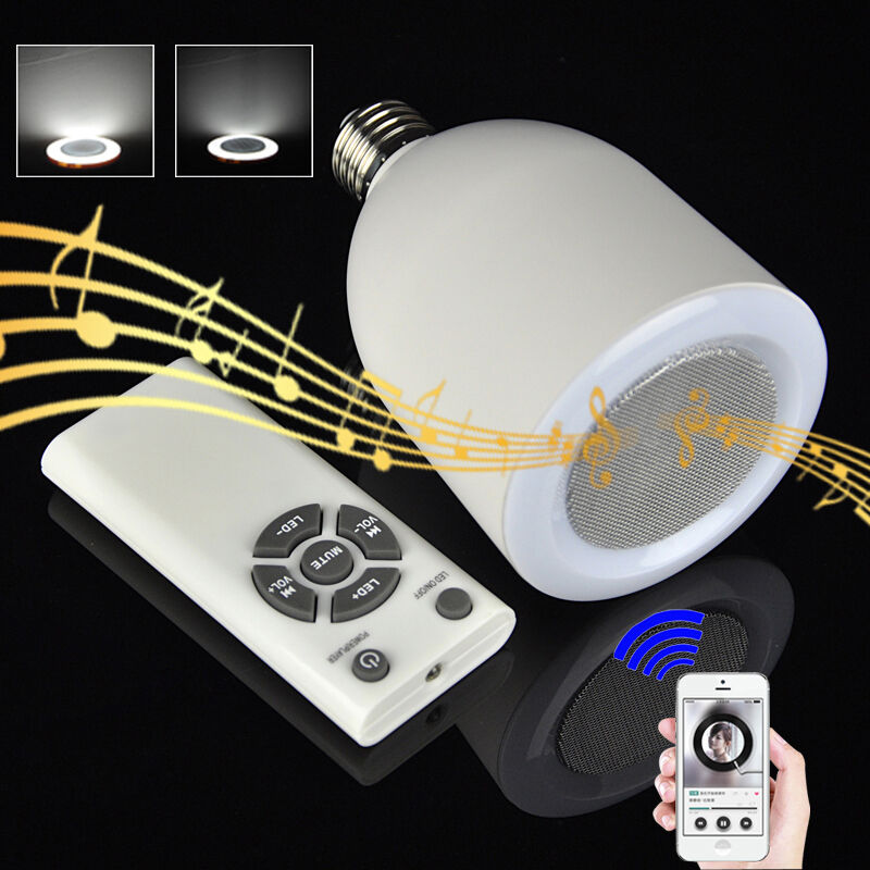 Wireless Bluetooth Control Smart Music Audio Speaker Led