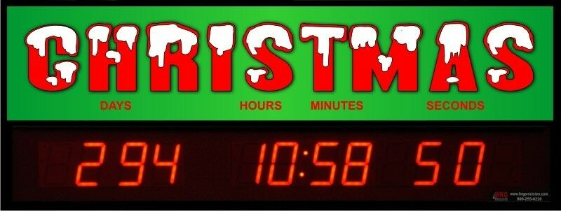 Digital Led Countdown Event Timer Countdown To Christmas
