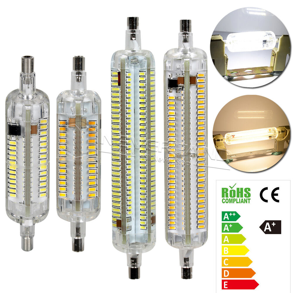 r7s led 10w 15w 78mm 118mm 3014 smd leuchtmittel fluter halogenstab lampe licht ebay. Black Bedroom Furniture Sets. Home Design Ideas