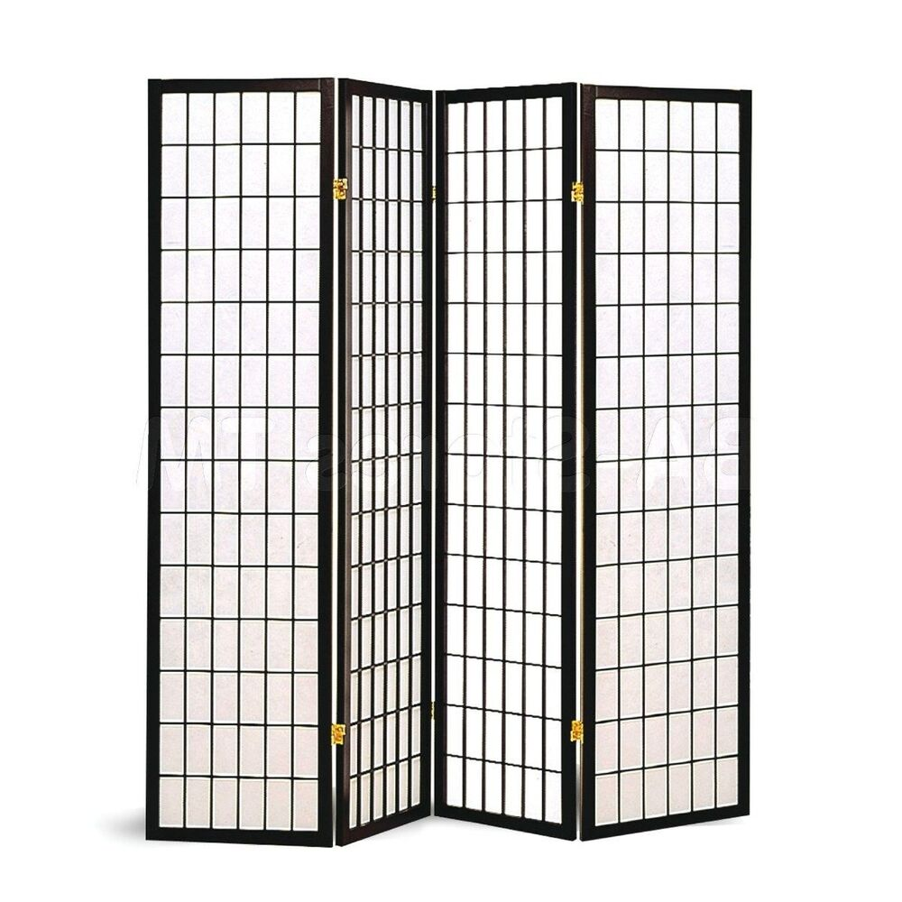 Screen Wall Panels : Screen divider room panel privacy folding wall oriental