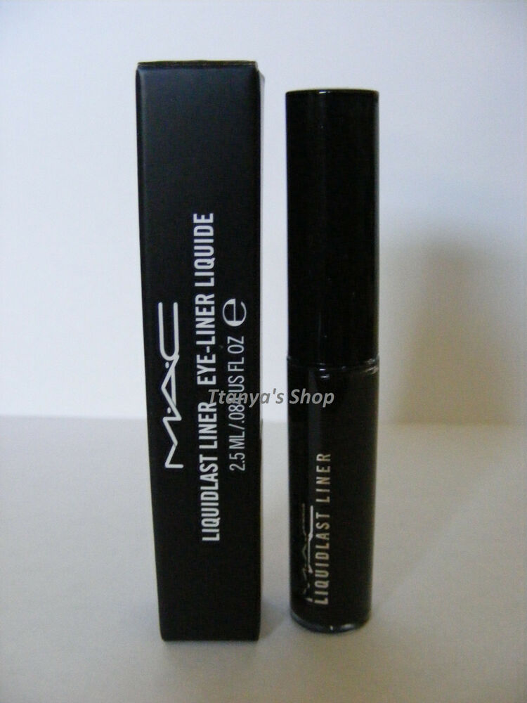 MAC Eye Liner Liquidlast Liner POINT BLACK 100% Authentic