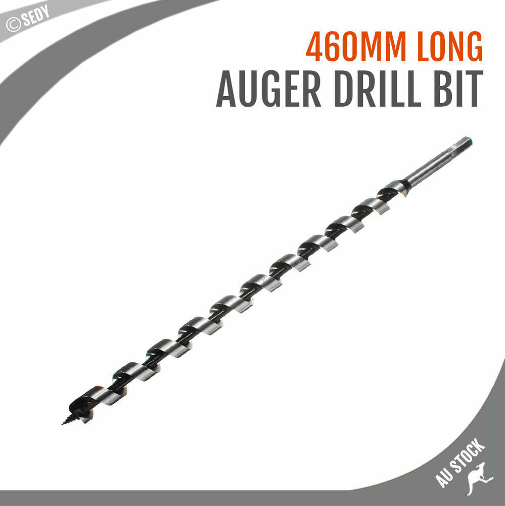 13mm X 460mm Heavy Duty Wood Auger Superior Drill Bits