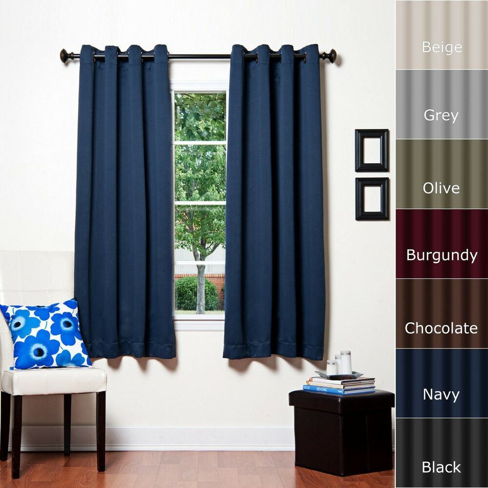 Best Home Fashion Thermal Insulated Blackout Curtain