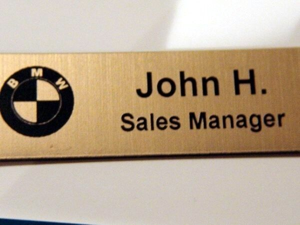 Name Badge: Custom Engraved Name Tag Name Badge Name Pin Magnet