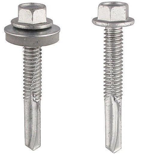 Timco Self Drilling Hex Head Roofing Tek Screws Heavy