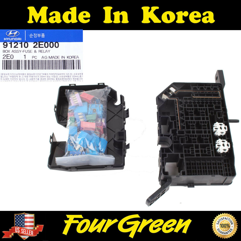 kia electric vehicle parts genuine hyundai tucson fuse panel block 2006 2008 2 0 engine new 912102e000