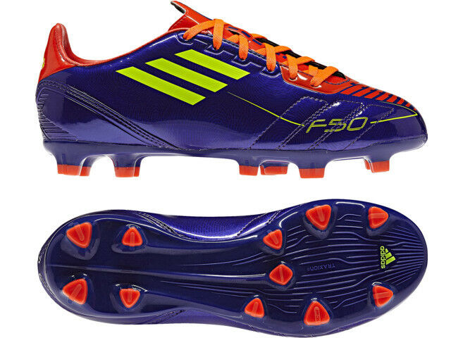 finest selection e8fc5 51620 Details about adidas F10 TRX FG 2010 Soccer Shoes Purple   Electricity    Infrared Kids - Youth