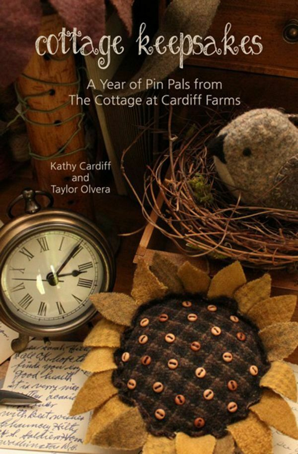 new book cottage keepsakes a year of pin pals from the cottage