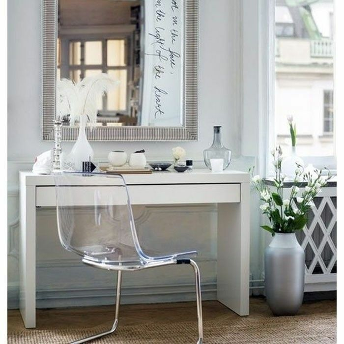 Makeup Dressing Vanity ~ Dressing table with drawer modern white vanity make up