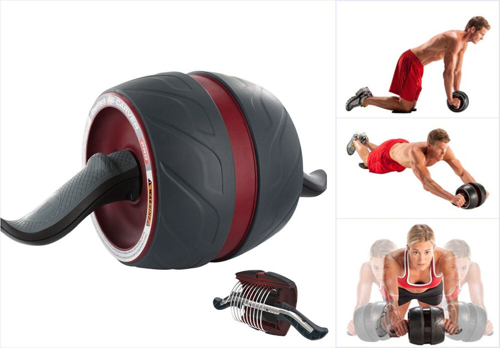 Fitness Exerciser Abdominal Ab Roller Wheel Core Workout ...