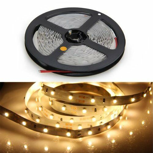 12volt Led Tape Light: Led Strip Light 300 LED Warm White 3100K LED Ribbon 12