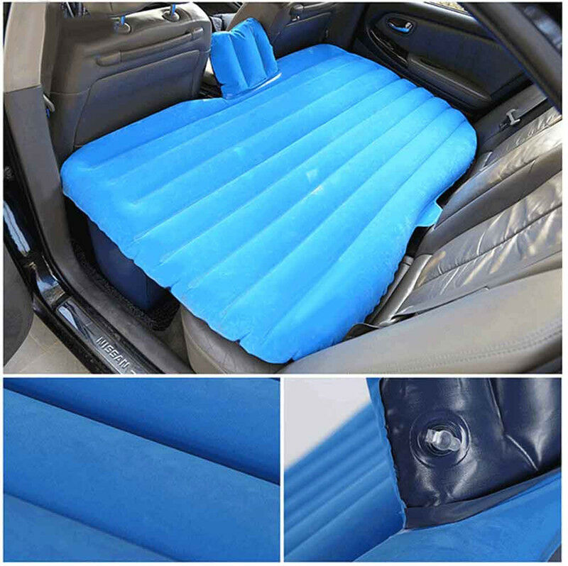 Truck Bed Inflatable Mattress ... Travel Car Inflatable Bed Back Seat Extended Air Mattress | eBay