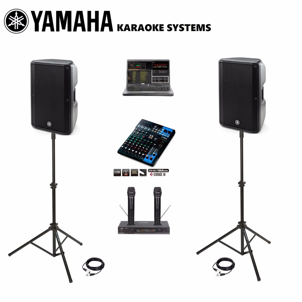 Yamaha Dbr10 Mg10xu Dj And Karaoke System Professional