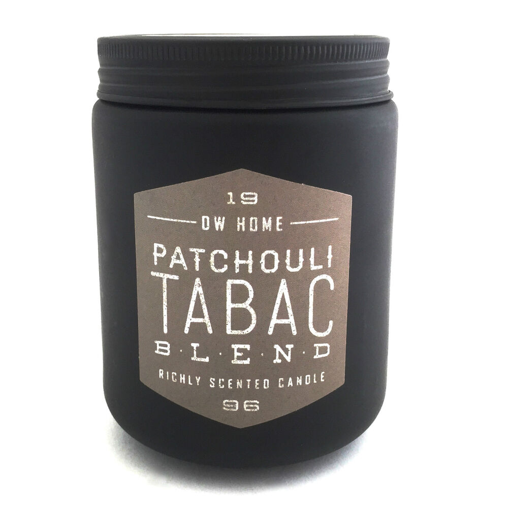dw home patchouli tabac blend candle 11 2 oz ebay. Black Bedroom Furniture Sets. Home Design Ideas