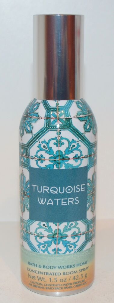 Bath Amp Body Works Turquoise Waters Concentrated Room Spray