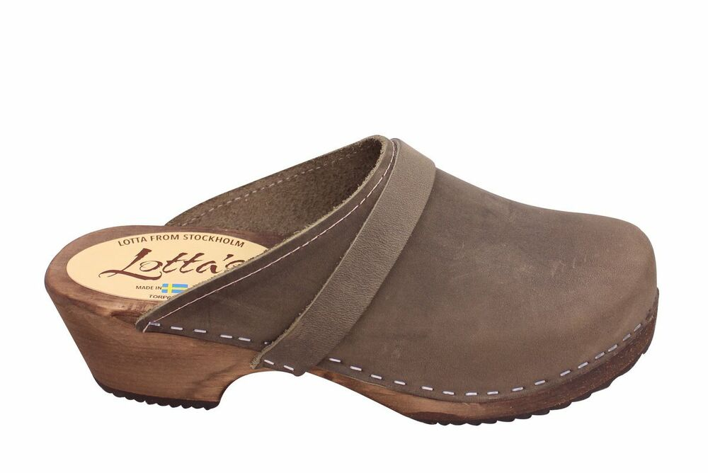 491c68493e3607 Lotta from Stockholm - Classic Clog - Various Colors and Sizes