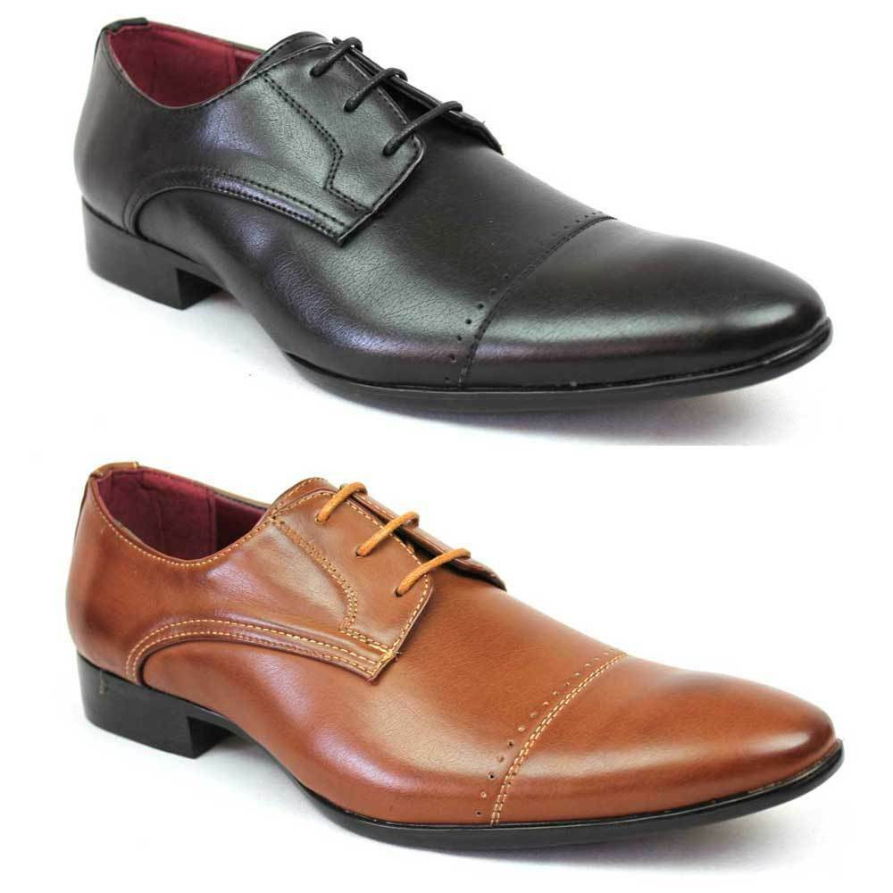 new s dress shoes cap toe lace up oxfords modern