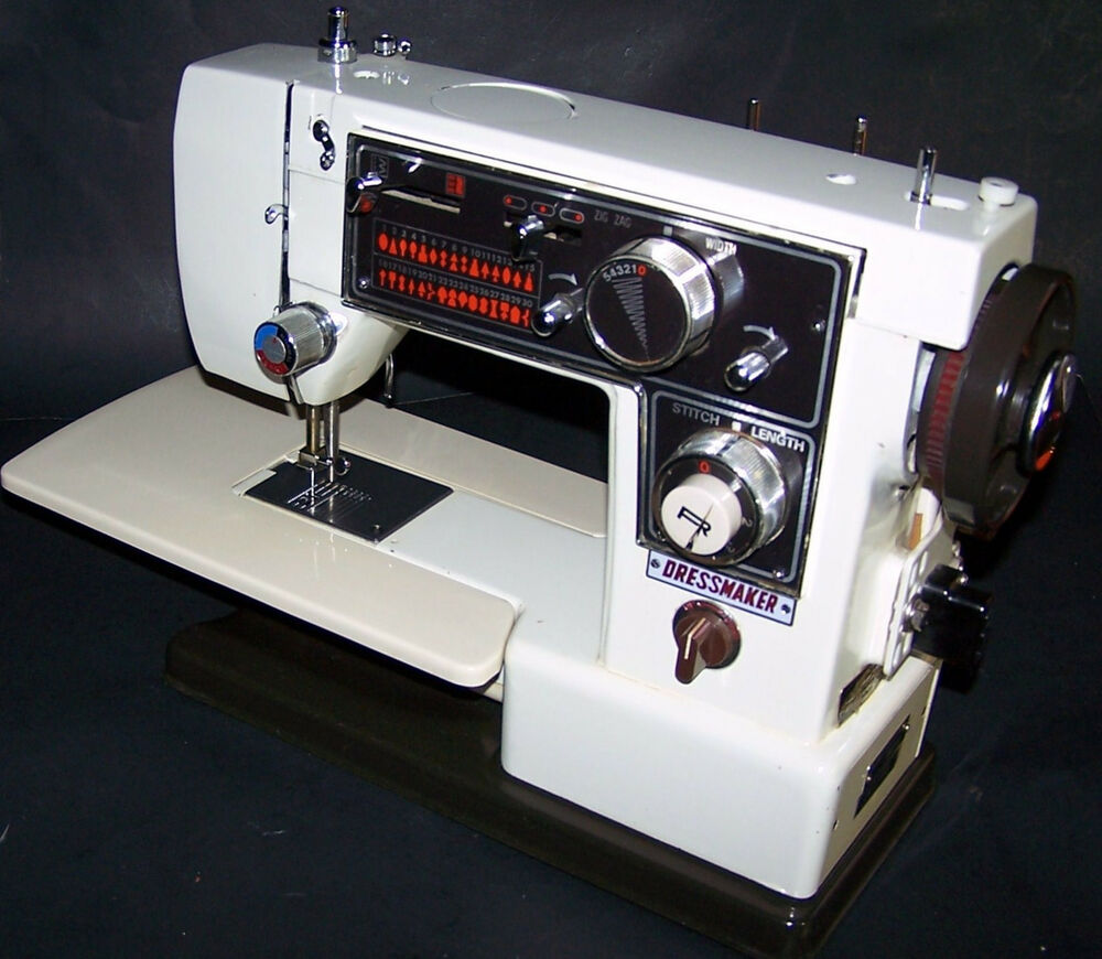 What Was the Manufacturer of Dressmaker Sewing Machines
