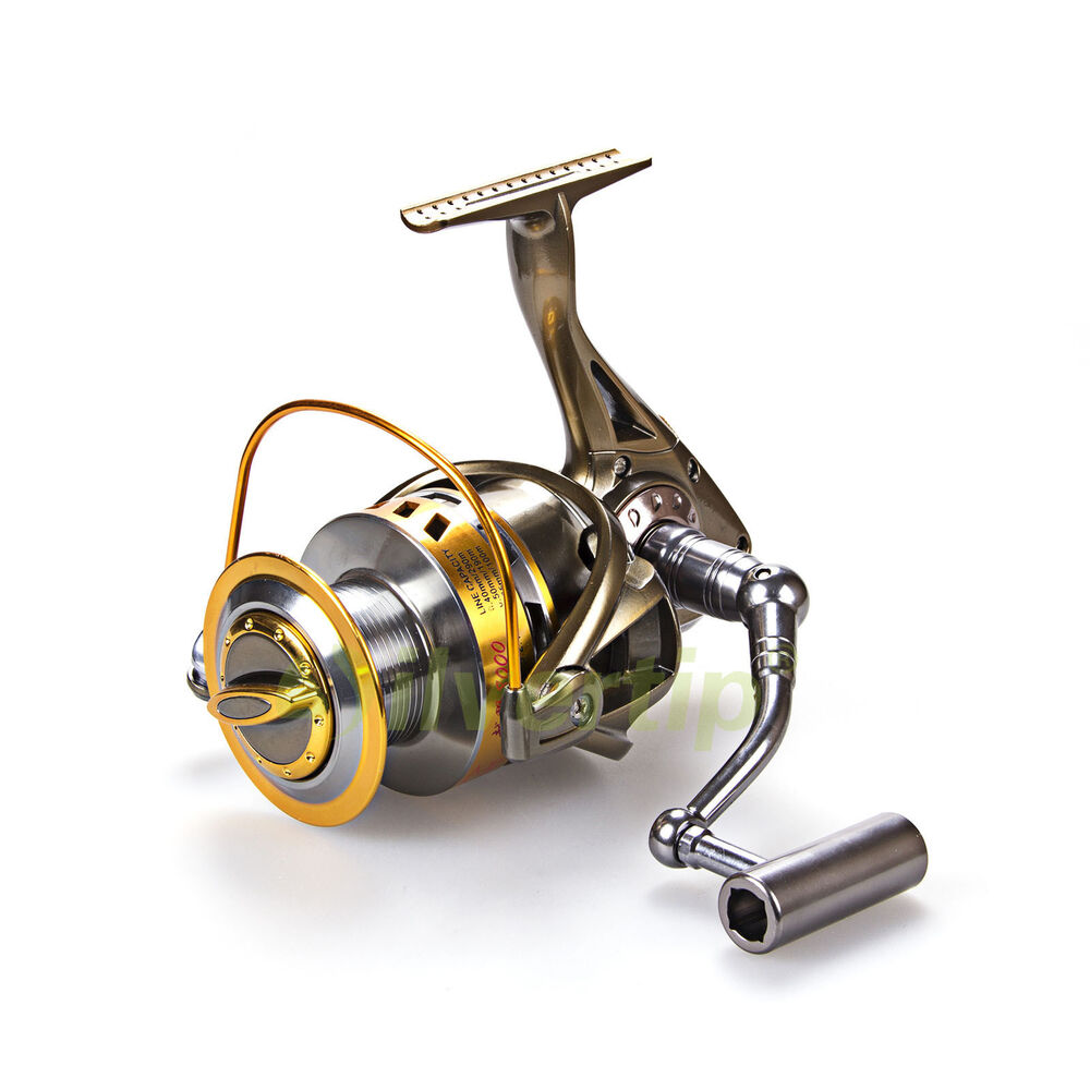 5 2 1 big game spinning fishing reel yy 8000 9000 surf for Surf fishing reels