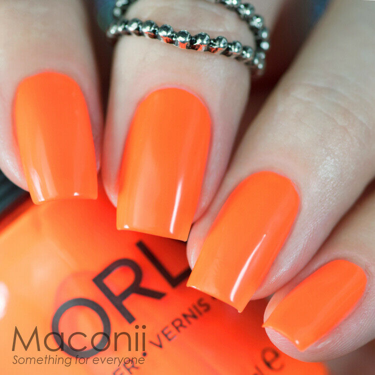 Crazy Fluro Orange Neon Summer