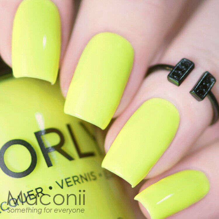Orly - Glowstick - Neon Fluro Fluorescent Yellow Summer Bright Nail ...