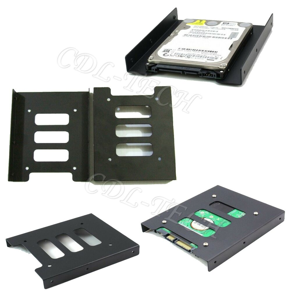 2 5 Quot Inch To 3 5 Quot Inch Metal Frame Ssd Bracket Desktop Pc