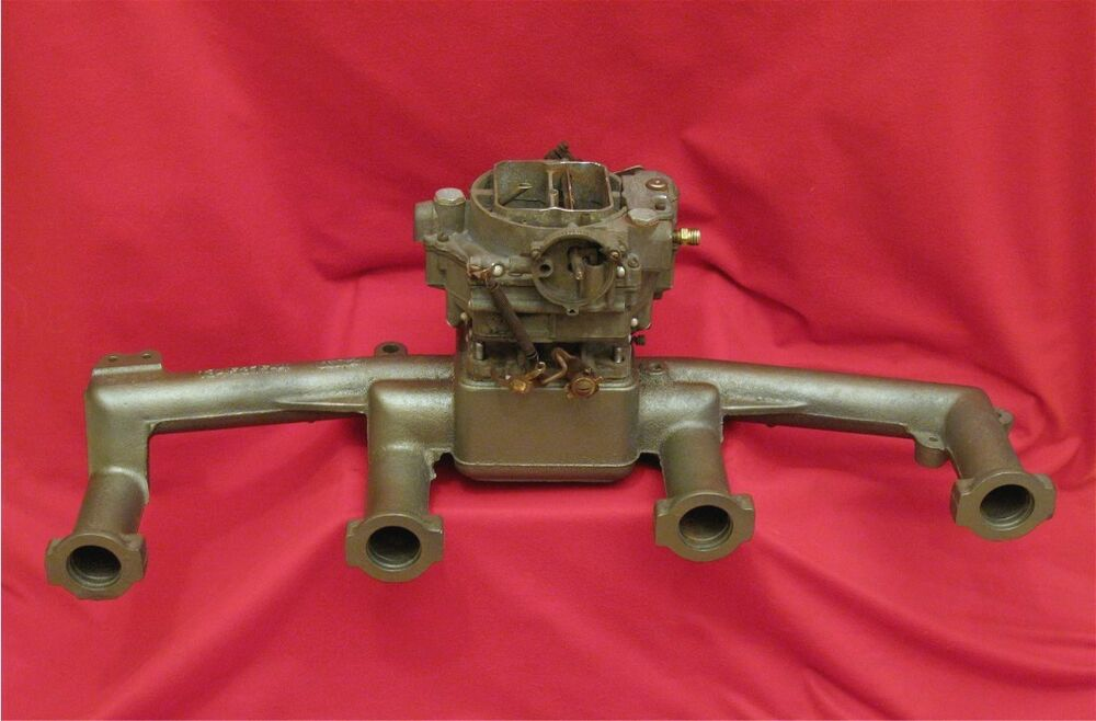 1952 Buick Roadmaster 320 4bbl Intake Carter Airpower Carb