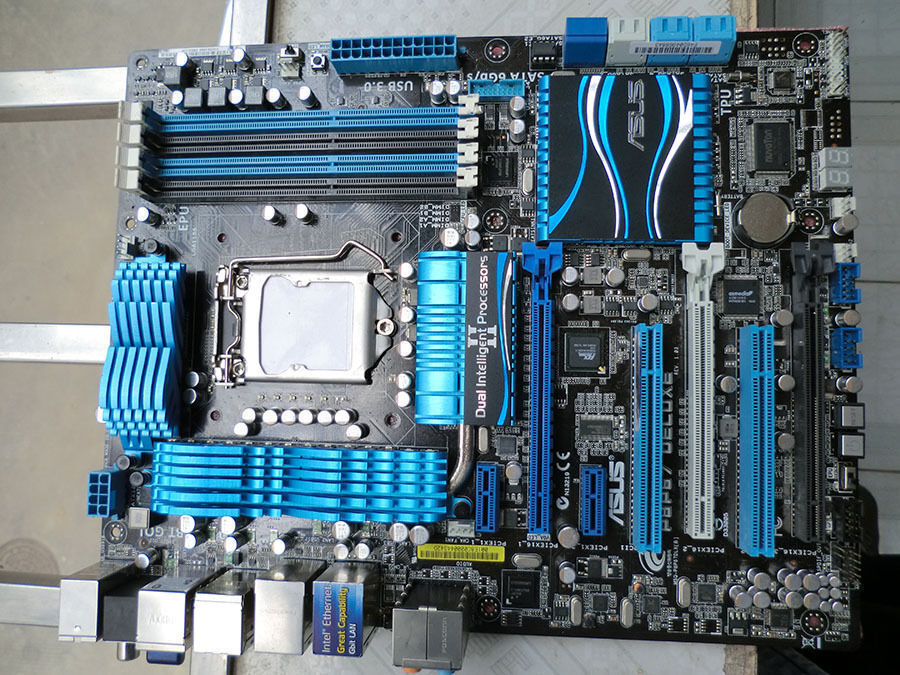 Brand name: for asus model number: p8p67 main chipset: for intel p67 audio chip: integrated realtek alc892