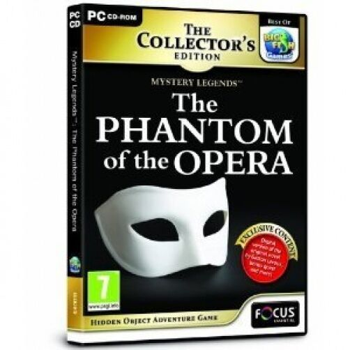 Mystery legends the phantom of the opera collector s edition pc cd
