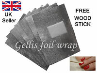 Foil Wraps for Removal of all types of UV/Led Soak Off Gel Nail Polish