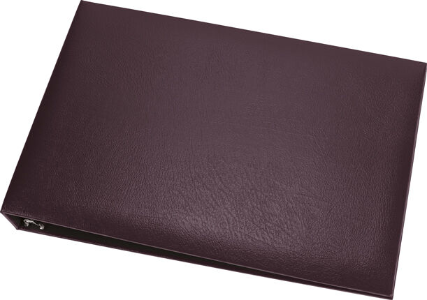 Ring  On A Page Business Checkbook Binder