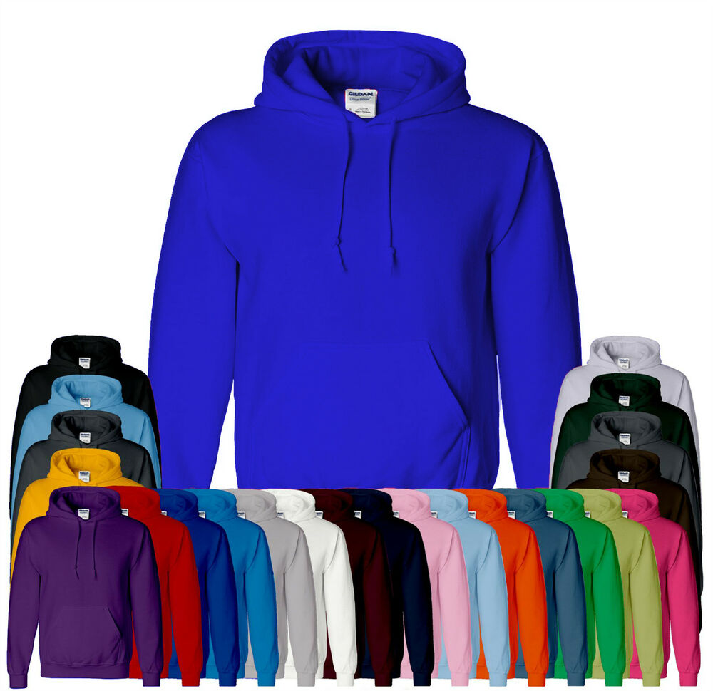 Plain colored hoodies