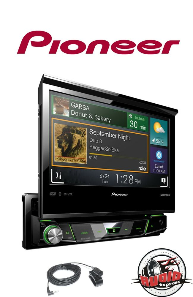 pioneer avh x7800bt touchscreen autoradio mp3 usb dvd cd bluetooth uvp 549 ebay. Black Bedroom Furniture Sets. Home Design Ideas