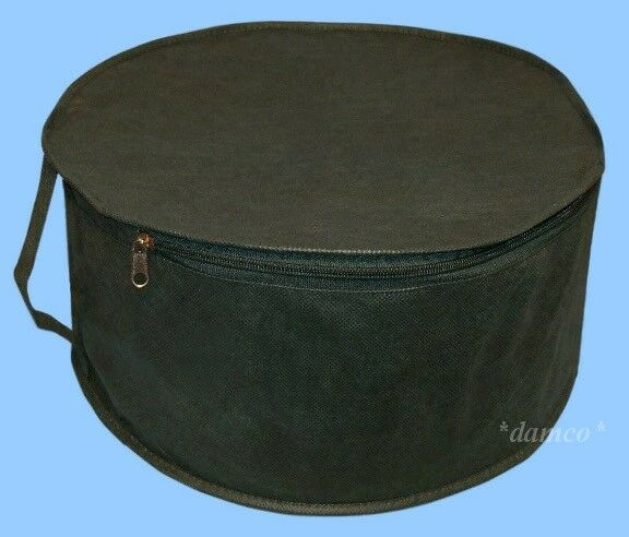 new mens cowboy western hat storage travel bag dust cap