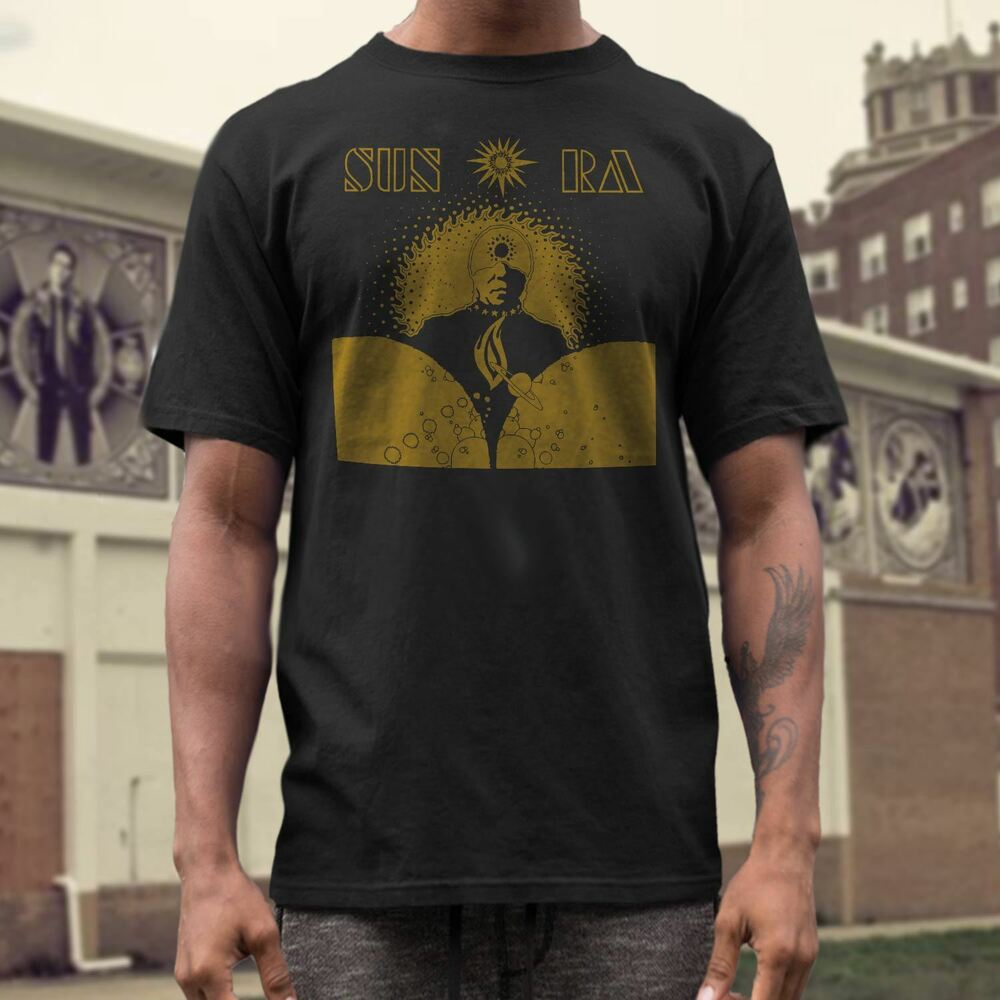 sun ra t shirt free jazz ebay. Black Bedroom Furniture Sets. Home Design Ideas