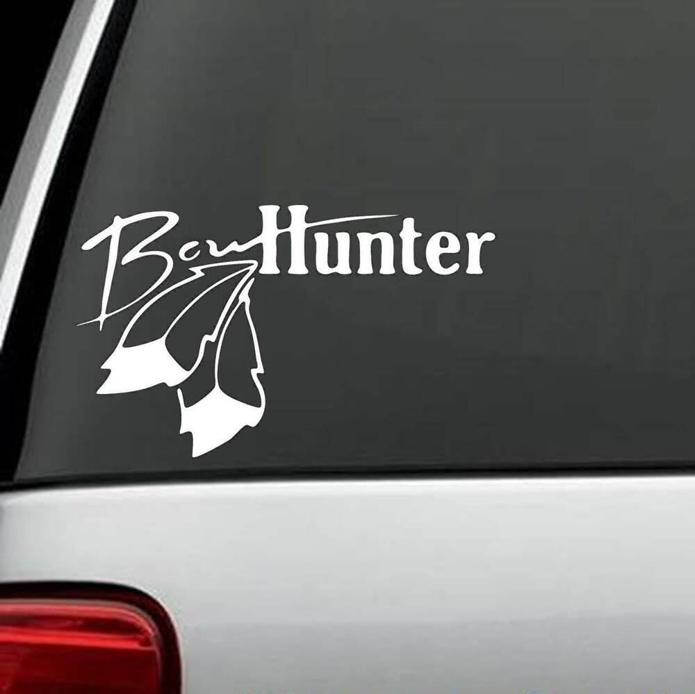 Bow Hunter Decal Sticker Turkey Deer Hunting Compound Bow