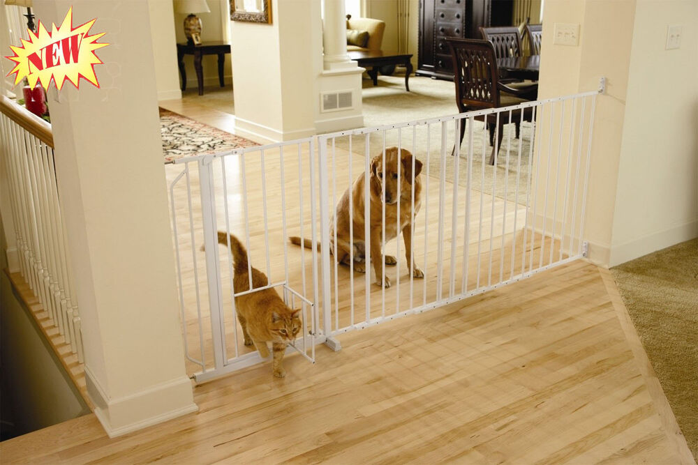 Carlson Maxi Pet Gate Small Door Safety Dog Cat Baby